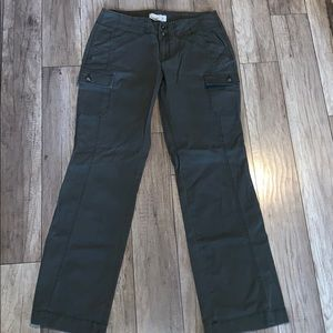 Old Navy olive green cargo utility pants size 8